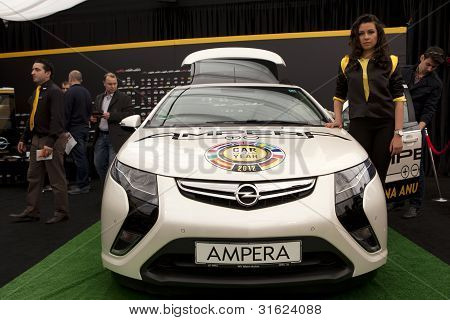 Bucharest Romania - April 8: Bucharest Auto Show (siamb) 2012 In Romania