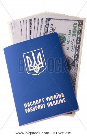 Foreign Passport Of Citizen Of Ukraine