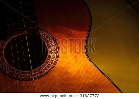 Old Concert Guitar