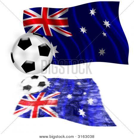 Football Flag Australia
