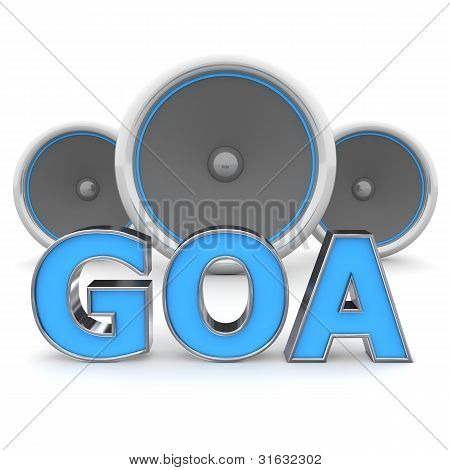 Speakers Goa – Blue