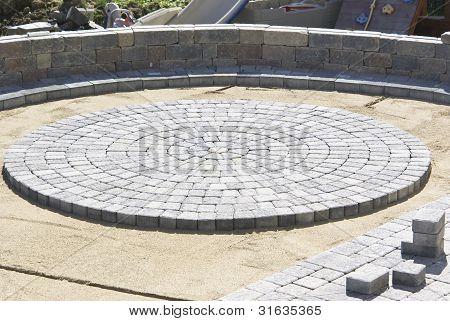 Circle Paver Design