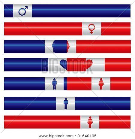 Male And Female Indicators