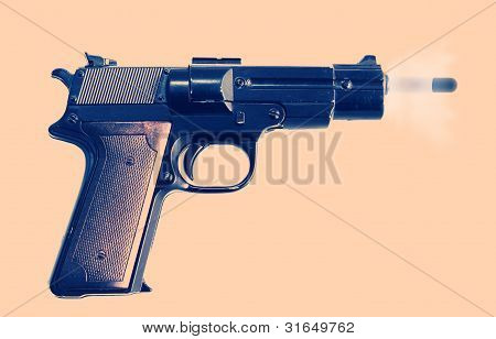 Gunshot  Pistol Protection