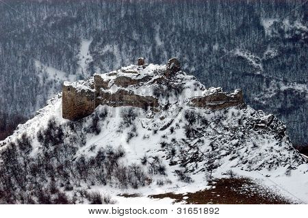 Fortress on a rocky height