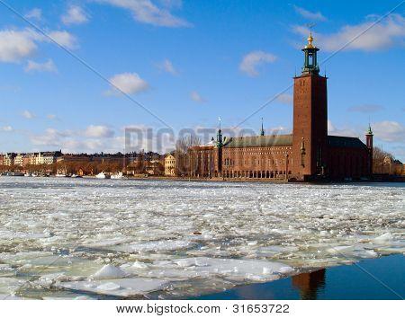 city hall of Stockholm, Sweden