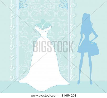 Wedding dress salon