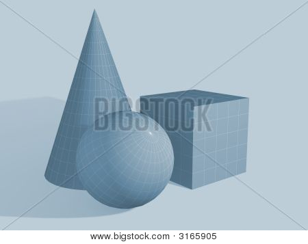 Three Geometrical Figures
