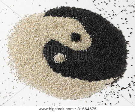Black And White Sesame Seeds