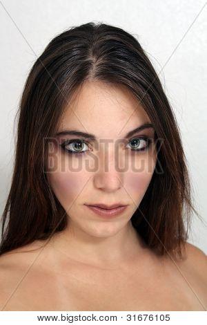 Glamorous Brunette Headshot