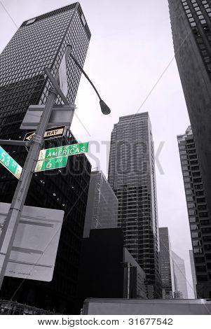 Modern buildings, New York