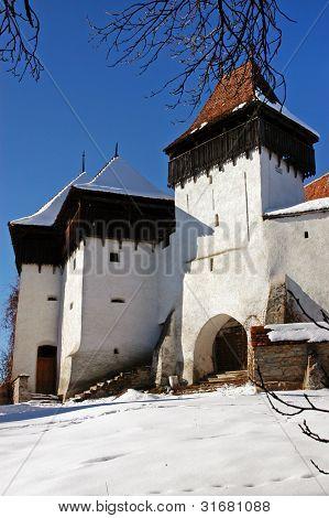 Fortified church of Viscri, Transylvania, Romania