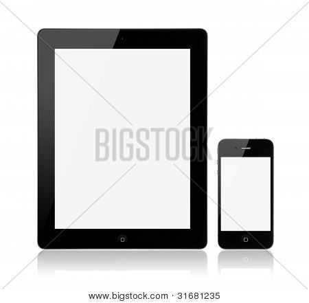 Apple Ipad3 met Apple Iphone4S