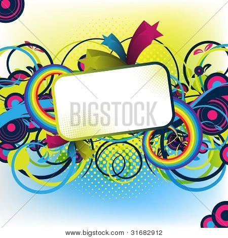 Colorful Artwork For Design