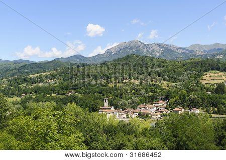 Small Town In Garfagnana (tuscany)