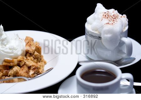 Apple Crumble And Coffee