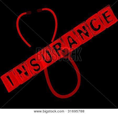 Insurance stamp design