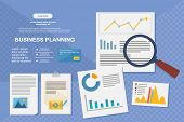 Concept For Business Analysis, Market Research, Data Analysis poster