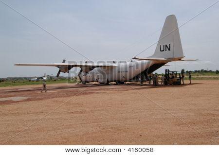 Un Flight In Darfur