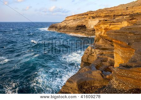 Pyroclastic Sea Cliffs