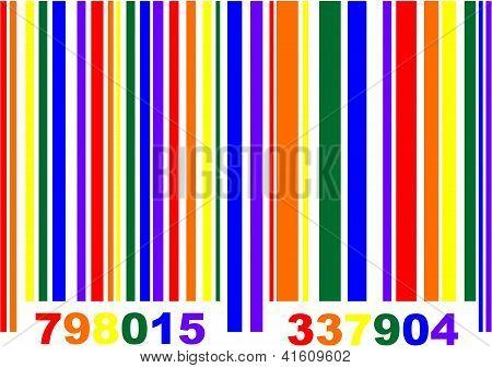 Gay Pride Barcode