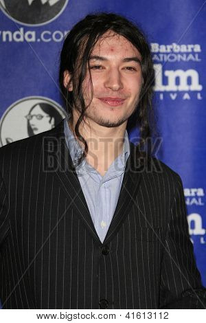 SANTA BARBARA - JAN 29: Ezra Miller at the Virtuosos Awards at the 28th Santa Barbara International Film Festival on January 29, 2013 in Santa Barbara, California