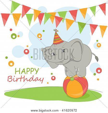 Happy Birthday card .