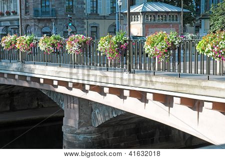 Beautiful Bridge In The City