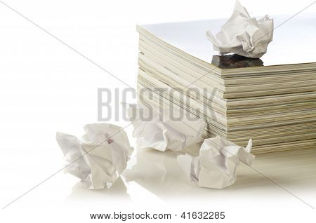 Concept Of Paper Recycling