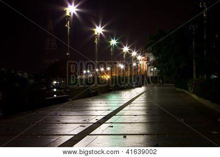 Walking The Streets At Night