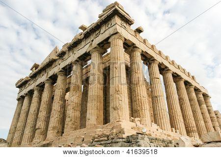 Parthenon at the Acropolis of Athens, Greece