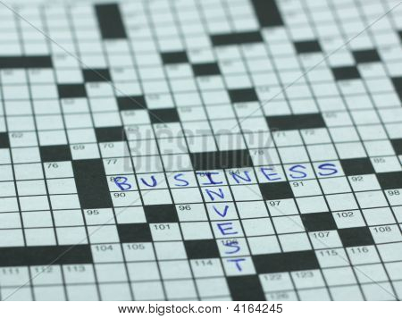 Invest In Business Puzzle