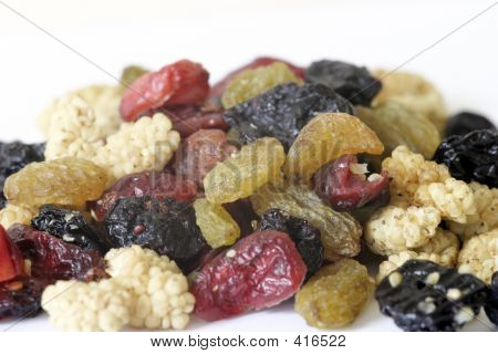 Mixed Fruit Close Up
