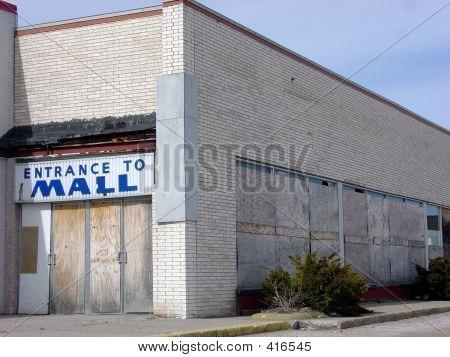 Rundown Shopping Mall