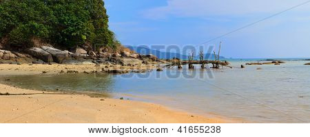 Rawai beach Exotic Bay in Phuket island Thailand - Ultra high resolution 117 MP