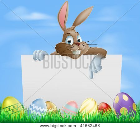 Chocolate Easter Eggs Sign