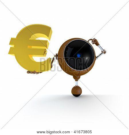 Robot Keep Euro Sign
