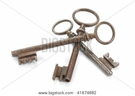 Threesome Of Skeleton Keys