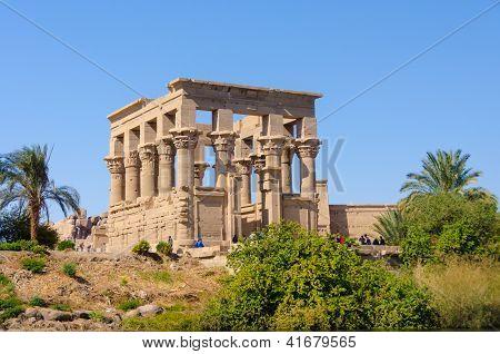 Trajan Kiosk of Philae, Egypt