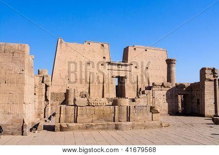 Edfu Temple of Horus, Egypt