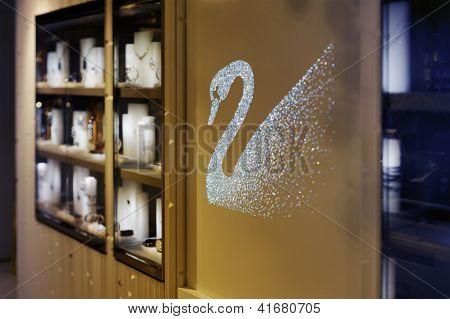Swarovski Shop And Winter Wonderland