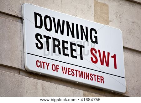 Downing Street In London