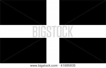 Saint Pirins Flag Of Cornwall