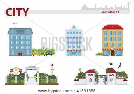 Public Building. Set 6