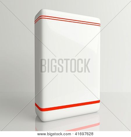 Product Software Box White