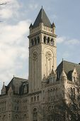image of old post office  - old post office building in washington dc - JPG