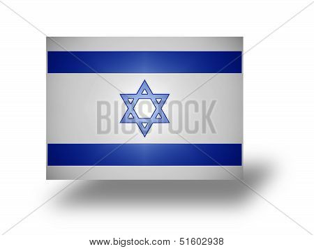 Flag Of Israel (stylized I).