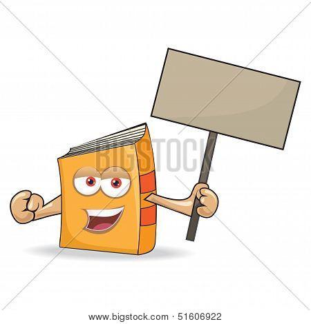 Vector Book Mascot