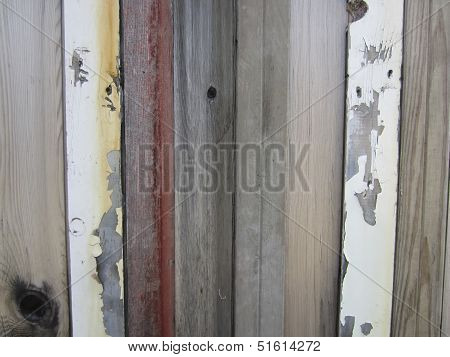 Repurposed Weathered Boards