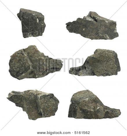 Individual Granite Rocks